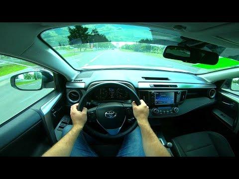 2017 Toyota RAV4 2.0 (146) POV TEST DRIVE
