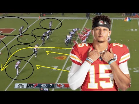Film Study: The Kansas City Chiefs OUTSMARTED the Houston Texans D for an NFL kickoff week 1 victory