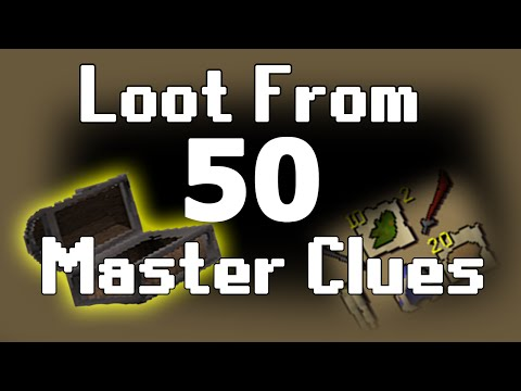 OSRS 100 Clue Scroll Rewards #3 - Lots of Elites - YEEZY - Video