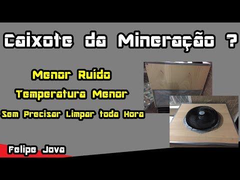 Caixote da Mineração, Menos Ruído e Temperatura Menor