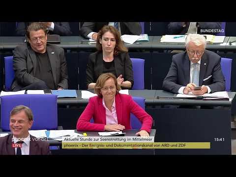 Bundestag: Aktuelle Stunde zur Seenotrettung am Mittelmeer am 27.06.2018