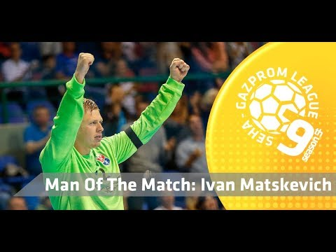Man of the match: Ivan Matskevich (Eurofarm Rabotnik vs Meshkov Brest)