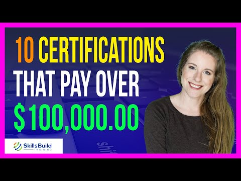 10 IT Certifications That Pay Over $100,000 | Best IT Certifications