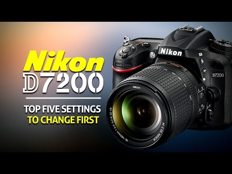 Top 5 Settings To Change On The Nikon D7200