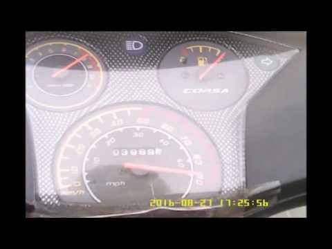 максимальная скорость Китайского скутера 82сс