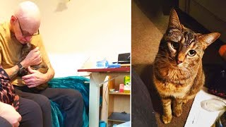Cat Remembers Former Owner During The Sweetest Visit At Nursing Home by Did You Know Animals?