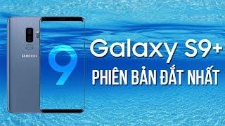 Mở hộp Galaxy S9+ phiên bản đắt nhất: Blue Coral, 256GB