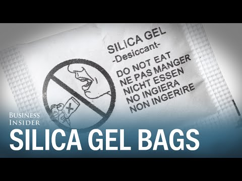 Why you should never throw away silica gel bags