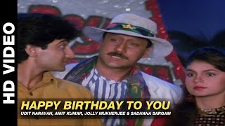 Happy Birthday To You Mr Pedro  Udit Narayan, Amit Kumar, Jolly Mukherjee & Sadhana Sargam