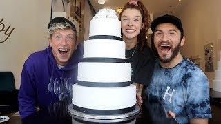CHOOSING HER DREAM WEDDING CAKE!!