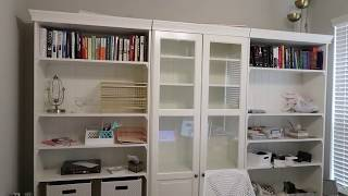 Finding Affordable Library Bookshelves For Home Office/Craft Room | Home Sweet Hale Ep. 30