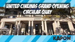 UNITED CINEMAS LAUNCH AT OPERA QUAYS