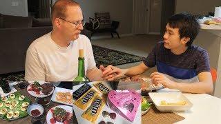#101| Ngày Lễ Tình Nhân Của Long và Rob: Ăn Trứng Luộc, Thịt Bò Nướng Và Salad