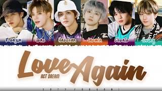 NCT DREAM – 'LOVE AGAIN' Lyrics [Color Coded_Han_Rom_Eng]