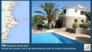 preview picture of video 'Villa zu verkaufen in Benidoleig, Alicante, Spain'
