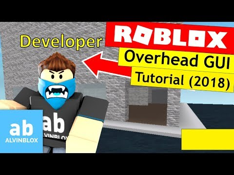 How To Make An Overhead GUI - Roblox Scripting Tutorial