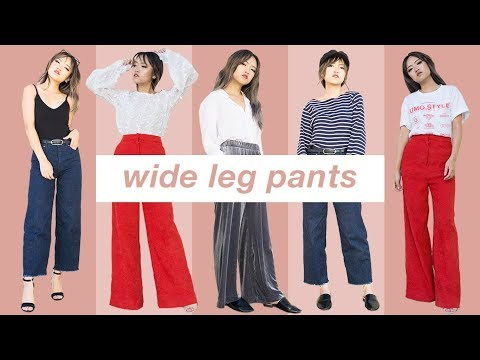 Why You NEED Wide Leg Pants in Your Life