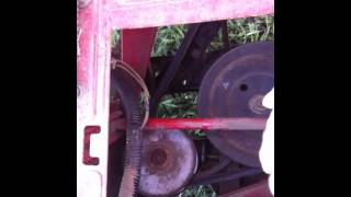 Drive belt problem (MTD Hydrostatic lawn mower)