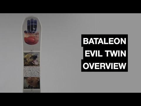 Bataleon Evil Twin 2017-2018 Snowboard Review  | The Snowboard Asylum