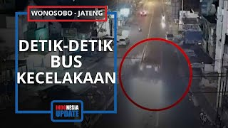 Video Detik-detik Bus Sugeng Rahayu Kecelakaan, Polisi Kesulitan Evakuasi Sopir yang Terjepit