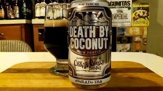 Oskar Blues Death By Coconut (6.5% ABV) DJs BrewTube Beer Review #867