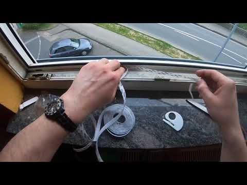 Fliegengitter (Insect Stop COMFORT) anbringen Fenster Mosquito Netz montieren Heimwerker Anleitung