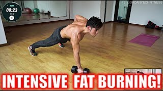Intensive Fat Burning Workout with Resistance by Jordan Yeoh Fitness