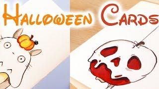 Easy Halloween Card Ideas