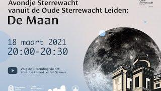 Avondje Sterrewacht - De Maan
