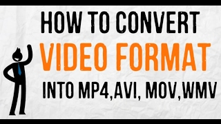 Convert Video into ANY FORMAT without Software