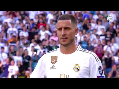 The Best moments of Eden Hazard's Real madrid Presentation