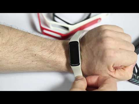 Lenovo G03 Smart Band Watch Video Guide