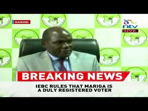BREAKING: IEBC clears McDonald Mariga to vie in Kibra