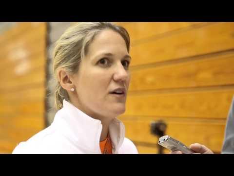 Head coach Courtney Banghart talks upcoming Princeton women's basketball season