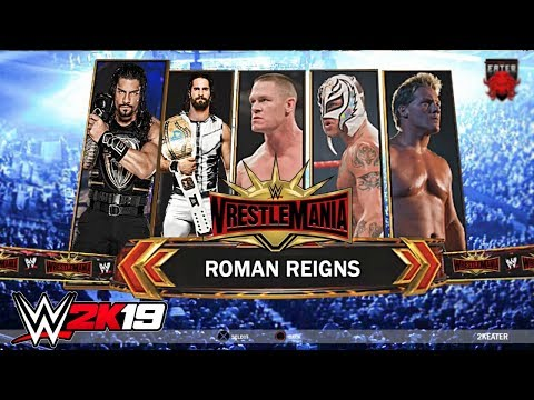 Download WWE 2K19 Road To Wrestlemania - THE RISE OF THE FIGHTING CHAMPION ft. Rollins, Lesnar Concept/Notion HD Mp4 3GP Video and MP3