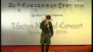 Tibetan Musical Concert - BYLAKUPPE, 2014 Tibetan Song Amae Jhamkyong (mothers Care)