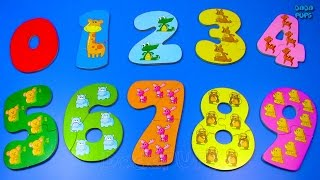 Learn To Count 0-9|Learn Numbers 0 to 9 |Numbers Puzzle| Learn Numbers for Children