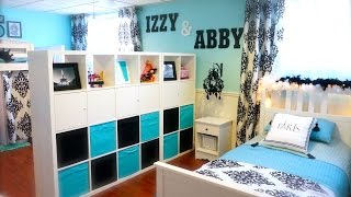 Decorating Tips- Decorating My Girls Shared Room On A Budget