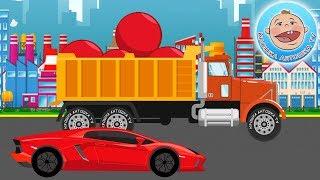 Мультфильм для детей. Красный шар и гоночная машинка. Новый мультик 2018