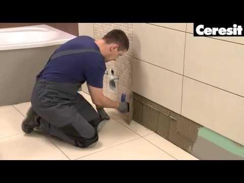 Обучающее видео по облицовке ванной комнаты