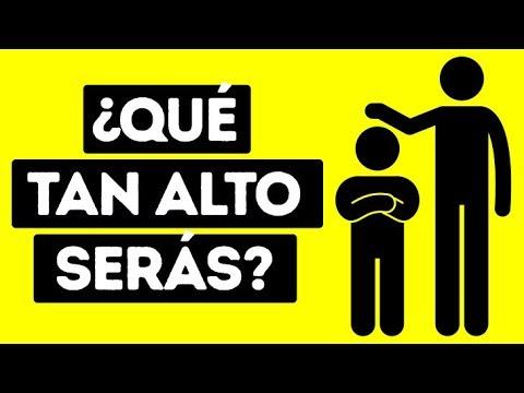 Video: ¿Cuánto Medirá Tu Hijo En El Futuro?