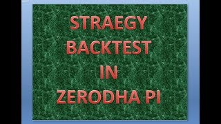 how to use zerodha pi scanner for intraday profit