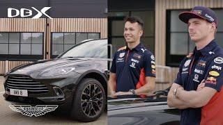 [오피셜] Max Verstappen and Alex Albon test out Aston Martin DBX