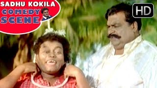 Sadhu Kokila Escape from Doddanna | Kannada Movie Comedy Scenes