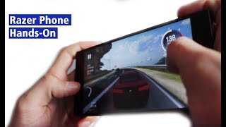 Gamer-Smartphone: Razer Phone mit 120fps im Hands-On (deutsch HD)