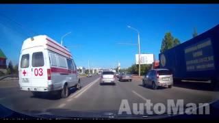 Быдло на дороге или мгновенная карма на встречке подборка №4