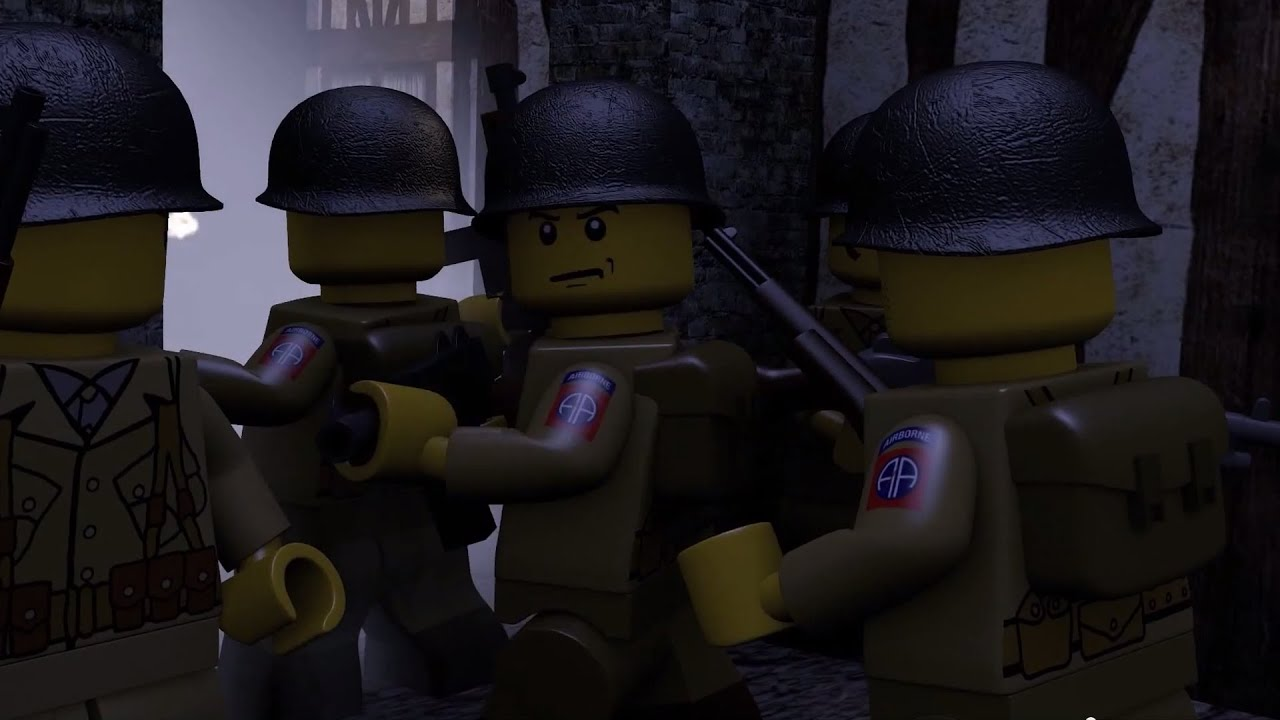 LEGO BATTLE OF NORMANDY: D-DAY - YouTube
