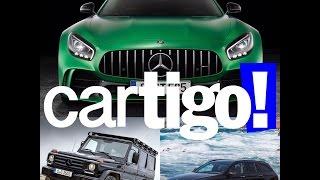 #9 – Mercedes G350D Profissional, E43 AMG Estate e AMG GT R