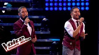 PJ Twins – 'When You Say You Love Me'  | Live Shows | The Voice SA | M-Net