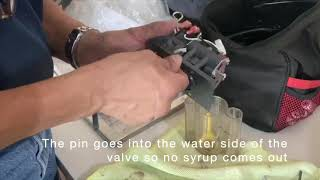Installing a Water Button on an LEV Valve